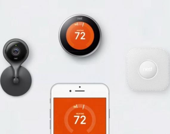 Nest Familie Thermostat Nest Cam Nest Protect