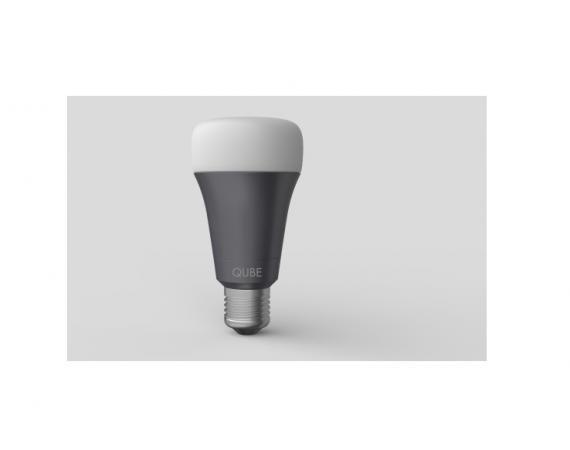 Abbildung der Qube LED Wi-Fi und Bluetooth Glühbirne für das Smarthome