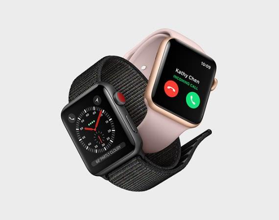 Die Apple Watch Series 3 bekommt eine eigene Simkarte und LTE