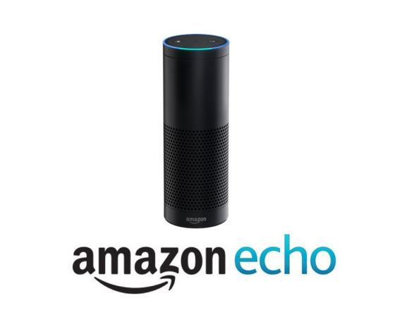 Amazon Echo in schwarz