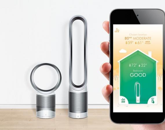 Der Dyson Pure Cool™ Link Luftreiniger mit App-Steuerung