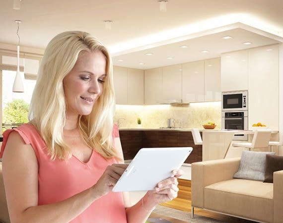 Das Schellenberg Smart Home ermöglicht eine umfassende Fernsteuerung der Haushaltselektronik