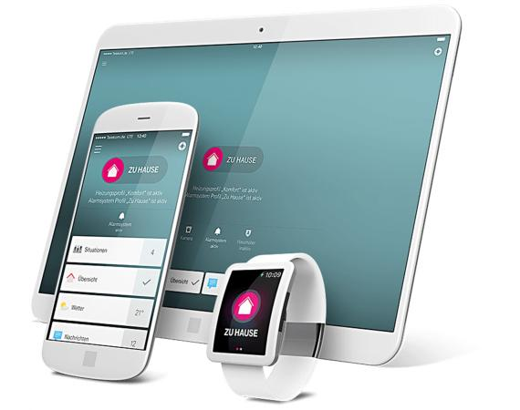 Telekom Smart Home App Steuerung