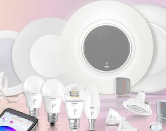 Produktübersicht des smarten LED Osram Lightify Lichtsystems