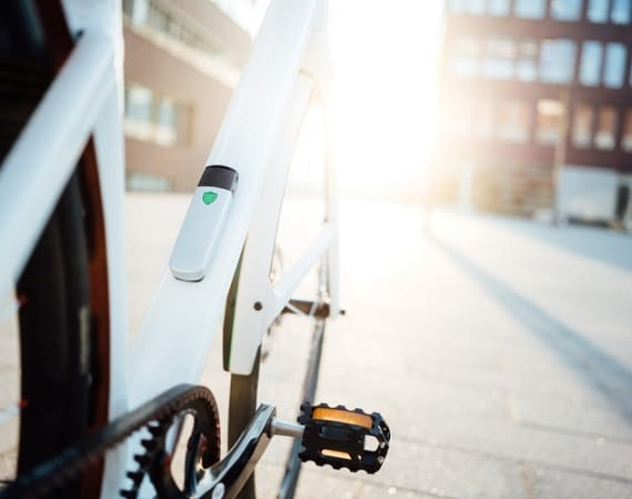 Insect ist die Alarmanlage fürs Fahrrad – Community inklusive