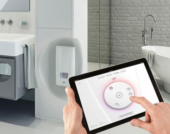 Smart Home Control-System von CLAGE