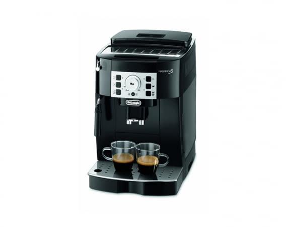 Der DeLonghi Magnifica S ECAM 22.110.B Kaffeevollautomat ist geeignet für Kaffeebohnen und Kaffeepulver