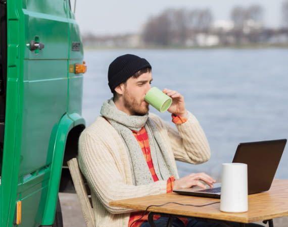 LTE-Router wie Vodafone Gigacube versprechen mobiles Internet