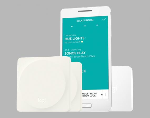 Logitech Pop Home Switch mit Smartphone App