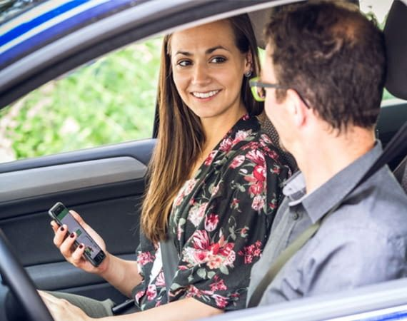 Ridesharing für Pendler - mit der MatchRiderGO-App
