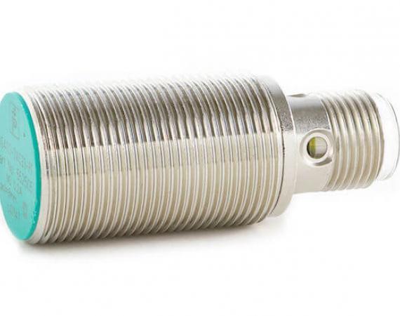 Abbildung eines induktiven Sensor, kapazitive Sensoren sind äußerlich identisch