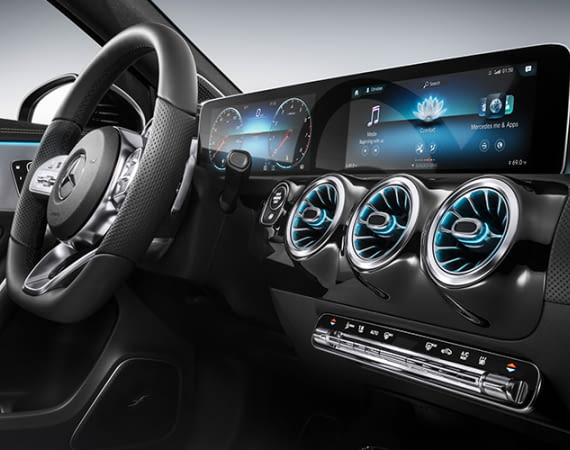 Mercedes will seinen Fahrern mit dem MBUX Infotainment-System ein neues Nutzererlebnis bieten