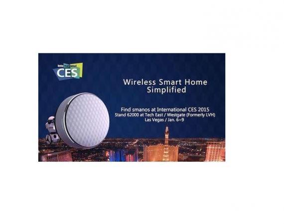 Neuer Smart Home Hub von Smanos zur CES 2015