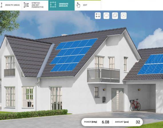Die EasySolar-Software vereinfacht die Planung von PV-Anlagen