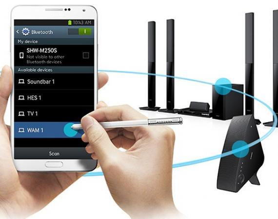 Bild des Samsung M7 Multiroom Lautsprechers