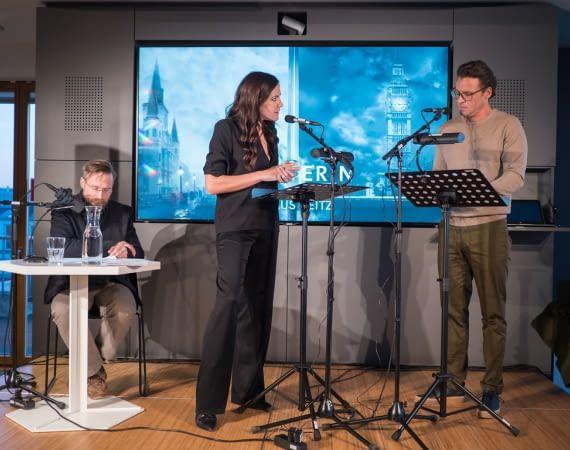 """Bettina Zimmermann spricht die Protagonistin in """"Die Meisterin"""""""