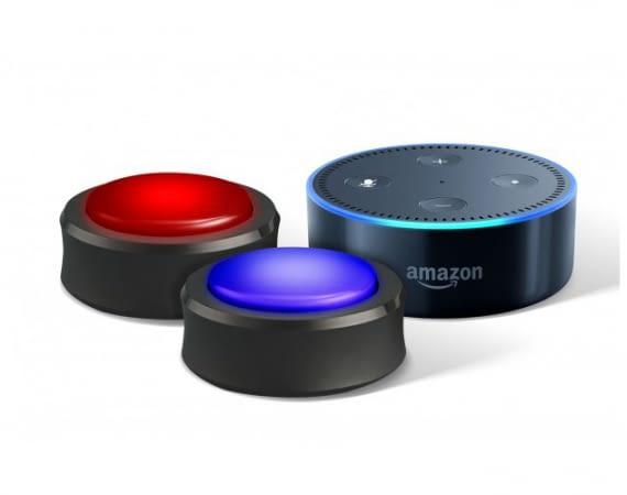 Handliche Buttons für Amazon Echo-Lautsprecher