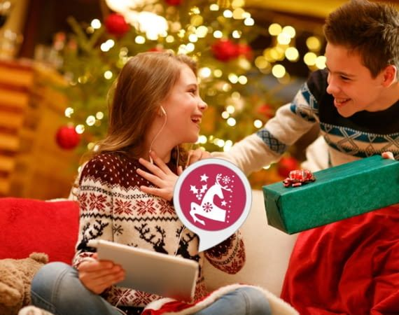 Jetzt wird's besinnlich: Mit dem Weihnachtsmusik FM-Skill die besten Sounds ganz einfach auf Zuruf starten