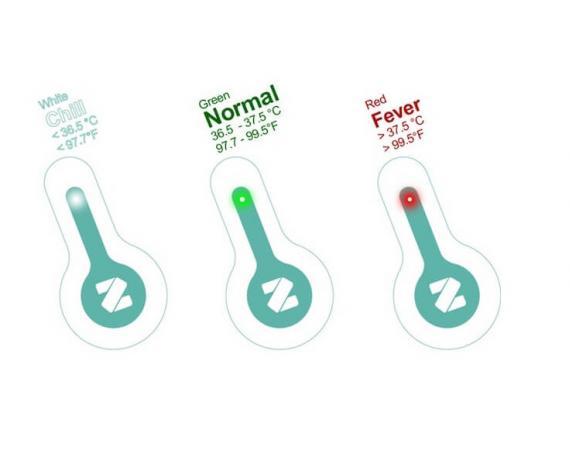 Das smarte Flo Thermometer mit Bluetooth