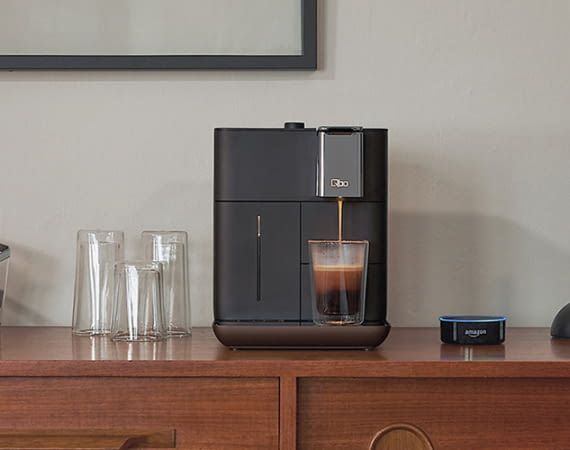 Amazon Alexa kocht Kaffee mit der Qbo You-Rista Kaffeemaschine