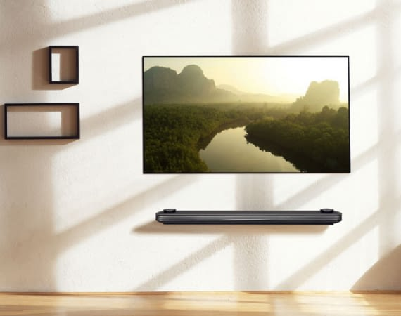 Der LG Signature W7V Wallpaper TV