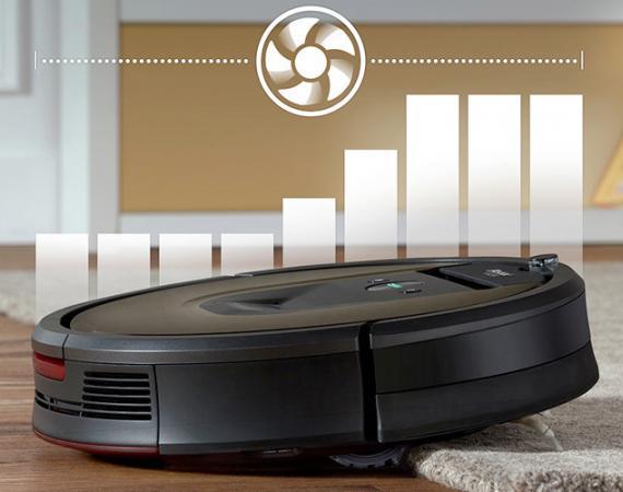 Abbildung des iRobot Roomba 980 Saugroboters für das Smart Home
