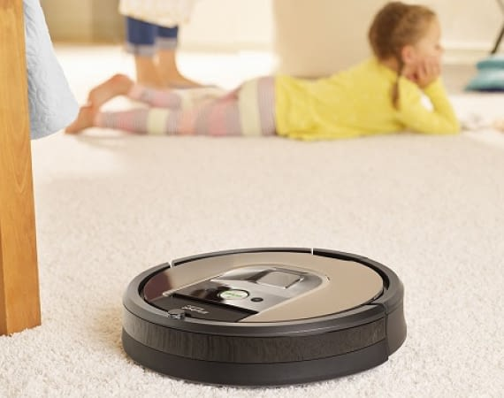 Smarter Saugroboter Roomba @irobot.de