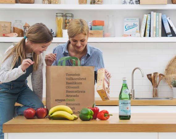 AmazonFresh liefert unter anderem frisches Obst und Gemüse