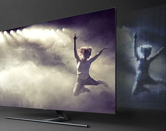 Samsungs QLED 75 Zoll Fernseher Q9FN - der TV-Bolide macht das Wohnzimmer zum Kino