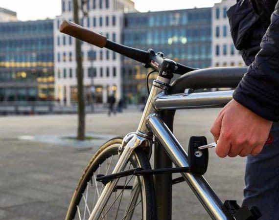 Dank ABUS Bordo müssen wir endlich nicht mehr nach dem Fahrradschlüssel suchen