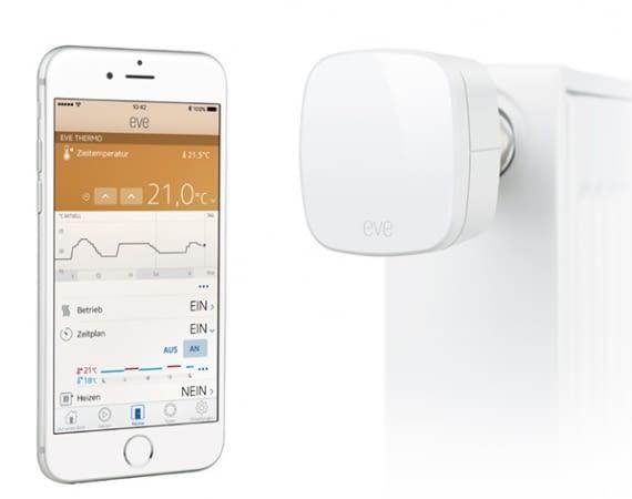 Elgato Eve Thermo Thermostatventil für Apple HomeKit