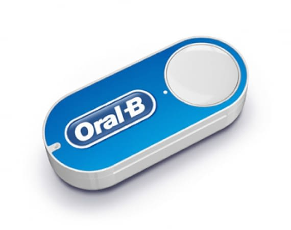 Amazon Dash Button - Oral B - Zahncreme per Knopfdruck bestellen