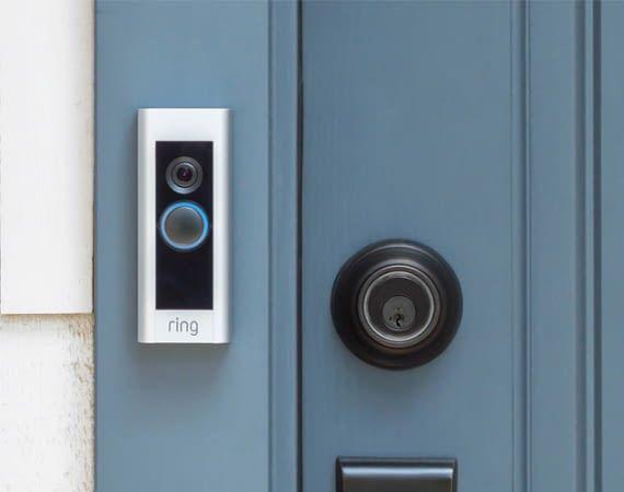 Smarte Ring Video Doorbell Türklingeln bewachen rundum die Uhr die Haustür