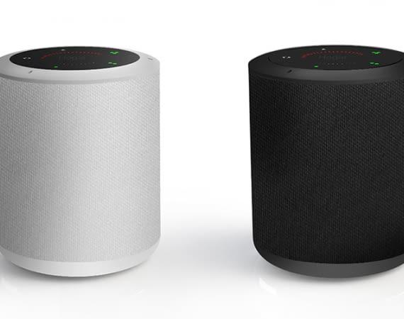 Der smarte Lautsprecher-Hub Milo mit integriertem Sprachassistenten Google Assistant