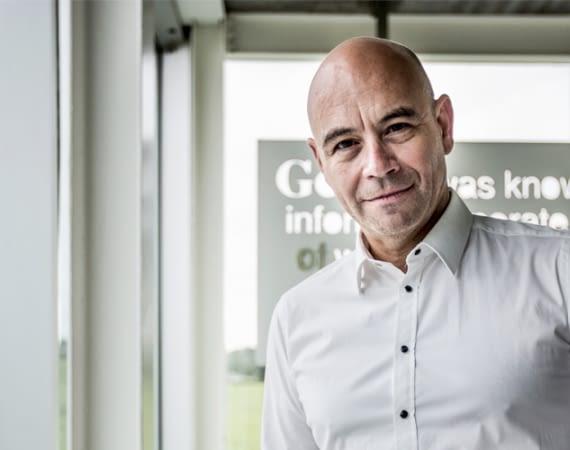 Nutzt Smappee Plus im eigenen Smart Home: CEO Stefan Grosjean