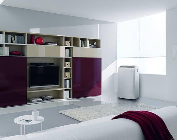 DeLonghi Pinguino PAC N81 ist für Räume bis zu 32 Quadratmetern geeignet