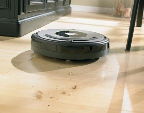 Der Roomba 615 bzw. 616 Saugroboter ist für alle Bodenarten geeignet
