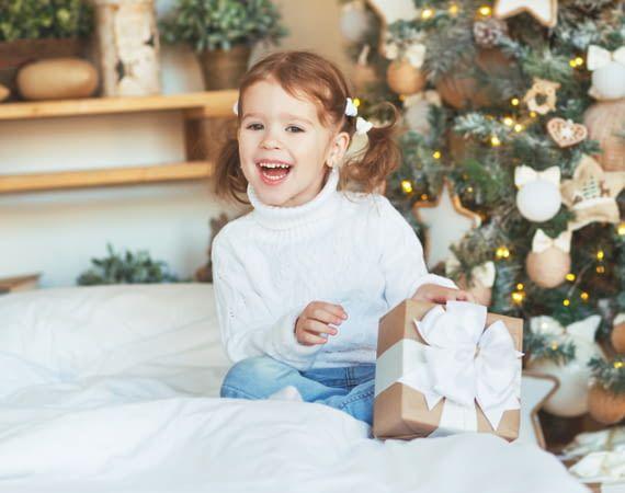 Kinder können Weihnachten oft kaum erwarten
