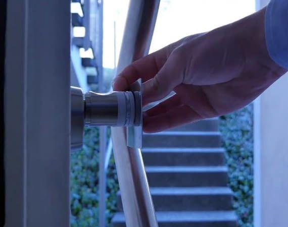 ABUS wAppLoxx ergänzt Türen um intelligente und sichere Türschlösser