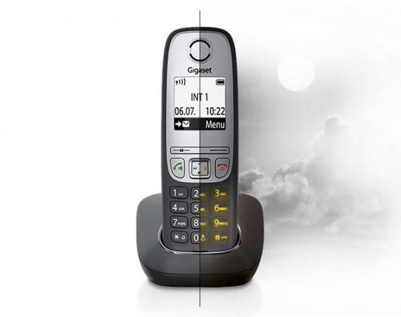 Gigaset A415 - DECT-Telefon mit Tag-/Nachtmodus für zeitgesteuerte Klingelabschaltung
