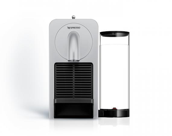 Nespresso Prodigio in Silber