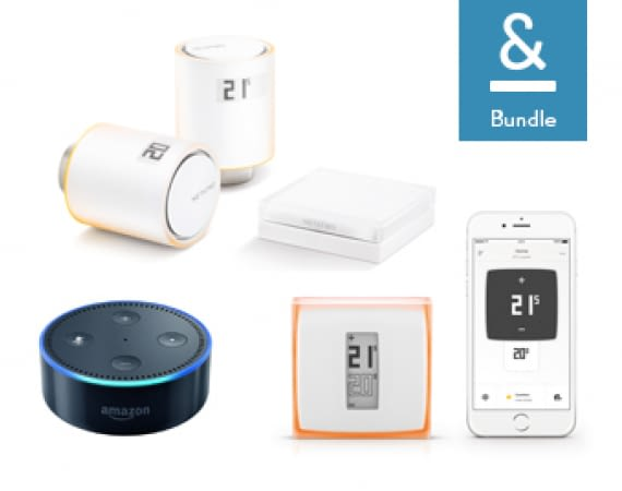 Netatmo Thermostate inkl. Amazon Echot Dot