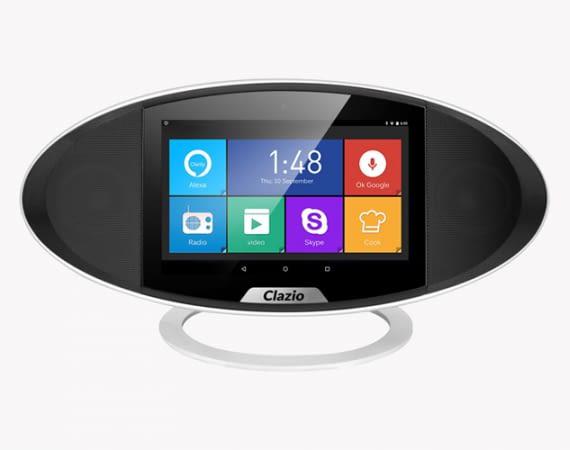 Der Clazio Smartspeaker ist wesentlich leichtfüßiger als der Echo Show