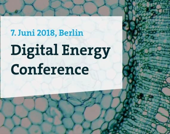 Die Digital Energy Conference in Berlin am 07.06.2018