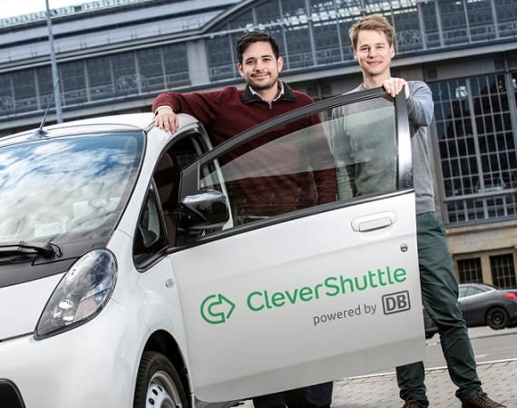 CleverShuttle macht Taxis Konkurrenz