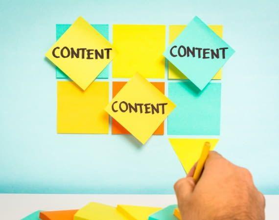 Hochwertige Inhalte sind entscheidend für einen guten Webauftritt.