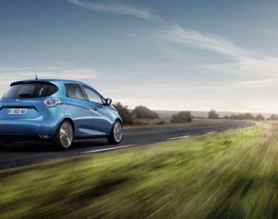Der Renault ZOE als Spitzenreiter unter den Elektroautos