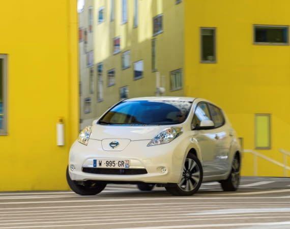 Elektroauto Nissan Leaf Modell 2010