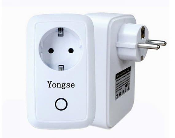 Die smarte Steckdose Yongse aus Asien ist für wenig Geld zu haben