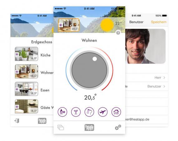 heatapp! - die Heizungssteuerung für iOS und Android